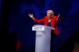 M. Le Pen gali tapti pirmojo rinkimų turo nugalėtoja