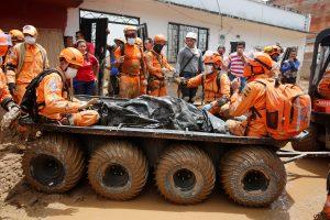 Kolumbijoje purvo nuošliaužų aukų skaičius perkopė 270