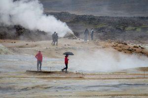 Islandija gaus švarios energijos iš ugnikalnio gelmių