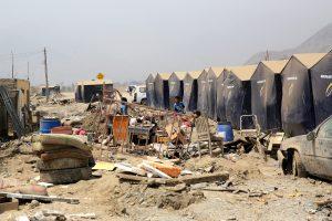 Peru potvynių ir purvo nuošliaužų aukų padaugėjo iki 113