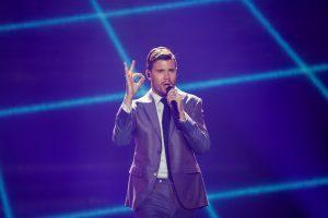 """Švedijos atstovas sukritikavo """"Eurovizijos"""" laimėtojo kalbą"""