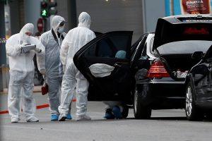 Graikijoje bandyta susprogdinti buvusį premjerą