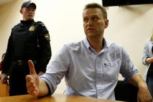 Protestai Rusijoje: areštuoti 1500 žmonių, A. Navalnas kalės 30 parų