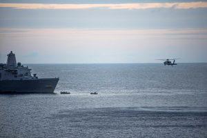 JAV nutraukė prie Australijos dingusių trijų jūrų pėstininkų paiešką