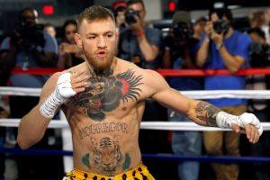 Amžiaus bokso dvikovos belaukiant: C. McGregoras trykšta pasitikėjimu