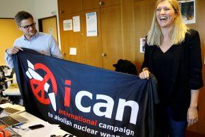 Nobelio taikos premija – Tarptautinei branduolinių ginklų uždraudimo kampanijai