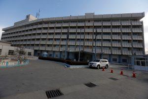 Prabangiame Kabulo viešbutyje – ginkluota ataka