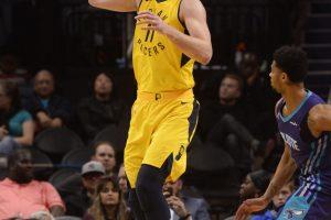"""Žvėriškai žaidęs D. Sabonis """"Pacers"""" komandai pelnė 30 taškų"""