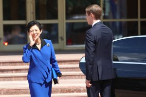 Rusijoje netikėtai apsilankė Japonijos princesė