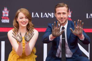 Holivudo Šlovės alėją papildė R. Goslingo ir E. Stone antspaudai