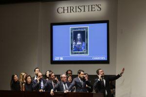 L. da Vinci paveikslas aukcione parduotas už rekordinę 450 mln. dolerių sumą