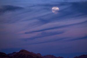 Pasaulis stebi Mėlynojo mėnulio užtemimą