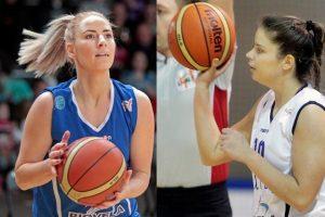 """R. Žilinskaitė bei M. Aleksaitė lieka šalies čempionių """"Utenos"""" ekipoje"""
