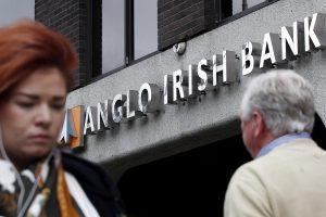 "Sulaikytas buvęs ""Anglo Irish Bank"" vadovas"