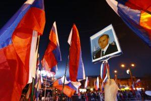 Krymo aneksija padėjo filosofinius pamatus V. Putino įsiveržimui į bet kurią valstybę