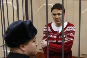 Rusijoje laikomos lakūnės N. Savčenko advokatas įtariamas ekstremizmu