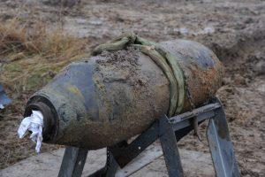 """Estų karinis laivynas sunaikino bombą būsimos """"Balticconnector"""" trasos vietoje"""