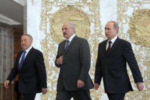 A. Lukašenka pasiūlė dešimtmečiui atidėti Eurazijos Ekonominės Sąjungos įkūrimą
