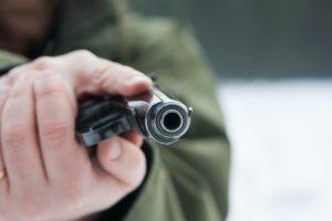 Vilniuje savaitgalį apšaudytas žmogus
