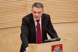 E. Masiulis: K. Trečiokas melavo ir Seimo komisijai, ir visuomenei