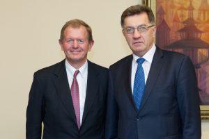M. Wallenbergą sužavėjo Lietuvos sugebėjimas greitai persiorientuoti į naujas rinkas