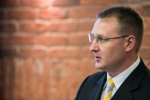 Lietuvos liaudies partijos taryba pašalino jos pirminininką A. Šedžių