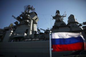 Rusijos karo laivai – Lamanšo kanale