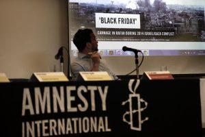 """Maskva smerkia """"Amnesty International"""" ataskaitą apie masinį korimą Sirijos kalėjime"""