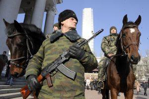 Ukrainos atsakas Maskvai už apsišaukėliškų DLR ir LLR palaikymą – nota