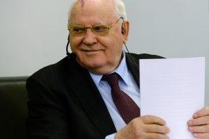 Prokurorai vertins skundą dėl liudytojo statuso M. Gorbačiovui