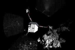 """Kometos branduolį tiriantis zondas """"Philae"""" aštuntą kartą susisiekė su Žeme"""
