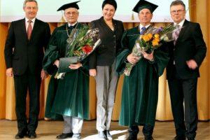 Olimpinės akademijos akademiko regalijos – VGTU dekanui