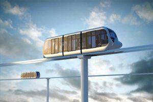 """""""Rail Skyway Systems Ltd"""" Lietuvai siūlo oru skriejančio traukinio projektą"""