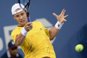"""R. Berankis poroje su Izraelio tenisininku nepateko į ATP """"Challenger tour"""" finalą"""