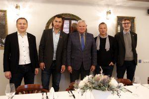 Uostamiestyje – D. Kasparaičio debiutas