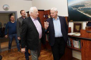 """""""Neptūno"""" atstovai Klaipėdos merui nušvietė situaciją"""