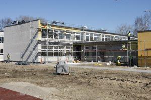 Uostamiestyje baigia pastatyti naują darželį