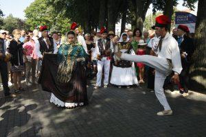"""Klaipėdoje – folkloro festivalio """"Parbėg laivelis"""" džiaugsmai"""