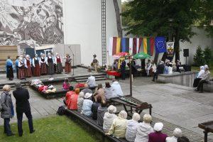 Baltų vienybės šventėje – svečiai iš Latvijos