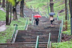"""""""Kauko"""" laiptai vis dar merdi"""