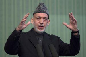 Pasitraukti besirengiantis Afganistano prezidentas prapliupo pykčiu Amerikai