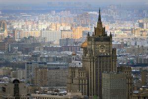 Maskva imasi atsakomųjų priemonių dėl Atėnų sprendimo išsiųsti rusų diplomatus