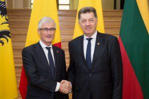 Bendradarbiaus Lietuvos ir Belgijos universitetai ir uostai