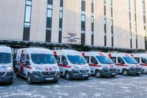 Atnaujina parką: ligonius veš 144 naujos greitosios