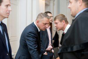 """""""MG Baltic"""" korupcijos byla: advokatai vėl bandė nušalinti teismą"""