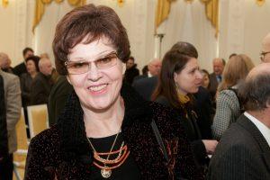 Dainininkė G. Kaukaitė švenčia 75-ąjį jubiliejų