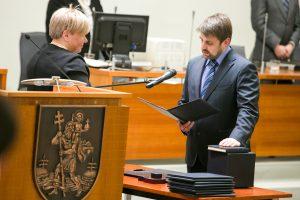 Už kolegą balsavusį V. Urbonavičių Vilniaus taryboje pakeitė A. Skaistys