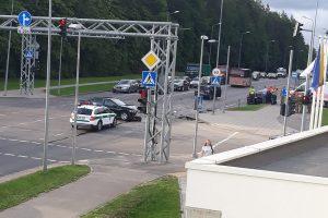 Vilniuje avariją sukėlė NATO karys