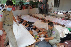 Kambodžoje apsinuodiję metanoliu užterštu ryžių vynu mirė 19 žmonių