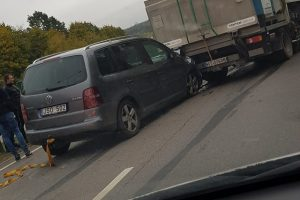 Vilniuje – masinė avarija: miestas duso spūstyje